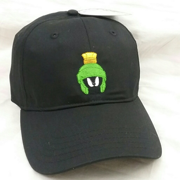 507906052b157 NEW Marvin Martian Looney Tune Strapback Hat 90 s